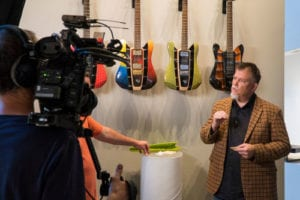 D&S Guitar interview at RKS design firm